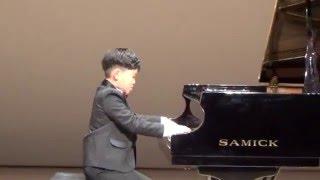 음악세계 피아노 콩쿠르, 쇼팽 에튀드 10-5 (영재발굴단 출연한 배용준군)