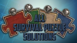 Survival Puzzle Solutions - Hearthstone Puzzle Labs
