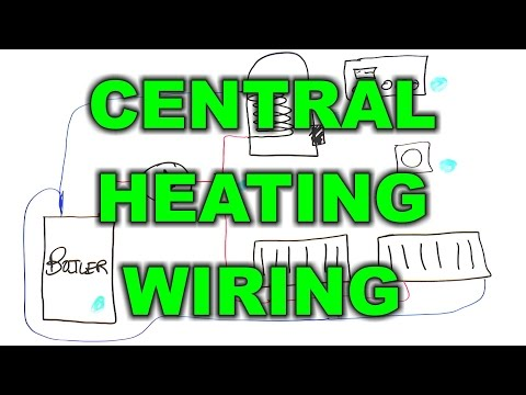S Plan Wiring Diagram Honeywell Diagramm Jeep Grand Cherokee Wh Central Heating Electrical Part 2 Youtube 25