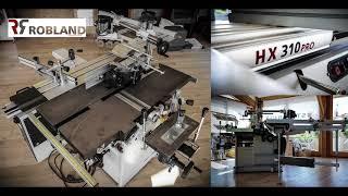 Combinée Robland HX 310 Pro - Présentation CMO - 2017 Habitarn - combined woodworking machinery
