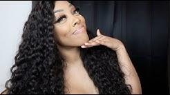Beautiful Natural Wave Weave Brazilian Virgin Hair Review    Ashley Deshaun   SuperNova