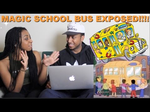 """Couple Reacts : """"Magic School Bus Exposed!"""" By Berleezy Reaction!!!"""