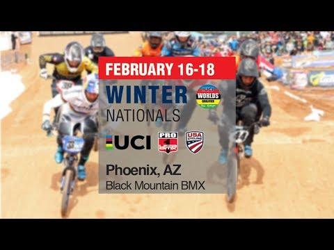 2018 USA BMX Winter National Day 1 Main Events