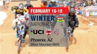 2018 USA BMX Winter National Day 1 Main Events thumbnail