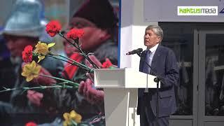 Алмазбек Атамбаев: Про армию и границы.