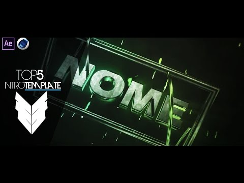 TOP 5 Intro Template #25 Cinema4D,After Effects CS4 + Free Download