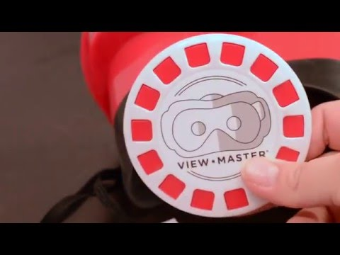 View Master VR Review and Unboxing, & how to use the Google Cardboard app!