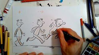 Cer i Greu - Animeiddio gyda Huw Aaron | How to draw Animation