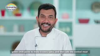Shahi Palak Gosht Full Recipe  Rainbow milk with Sanjeev Kapoor