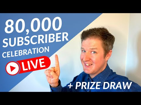 80K Subscribers Live Announcement! & GIVEAWAY WINNER ANNOUNCED