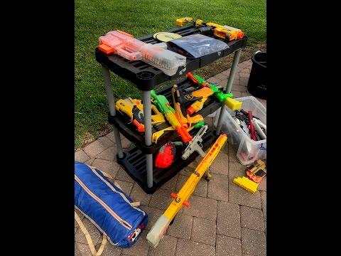 Yard & Garage Sale Nerf Gun Haul. Make money on Ebay 2017