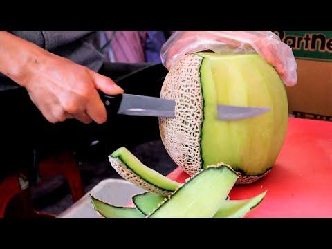 26년간 멜론 자르는 아저씨 #shorts - Melon Cutting Skill / Korean Street Food