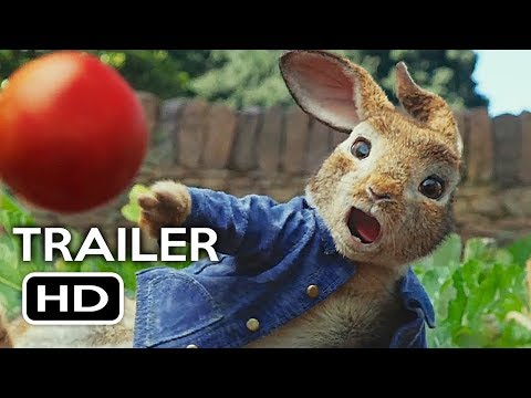 Peter Rabbit   2 2018 Margot Robbie, Daisy Ridley Animated Movie HD