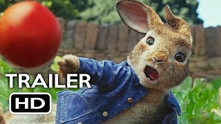 Peter Rabbit Official Trailer #2 (2018) Margot Robbie, Daisy Ridley Animated Movie HD
