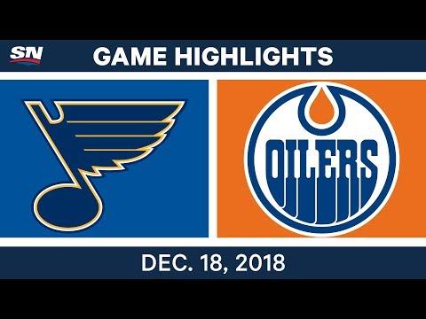 NHL Highlights | Blues vs. Oilers - Dec 18, 2018