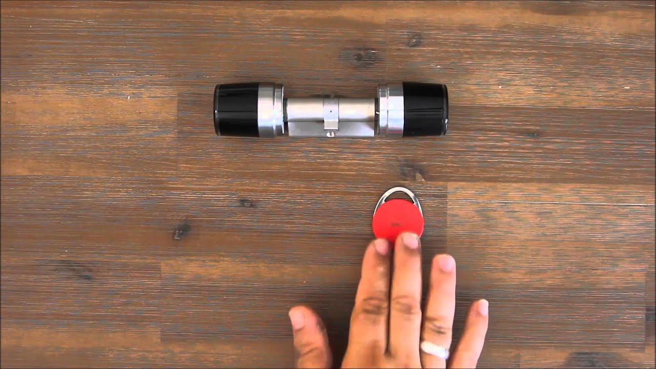 elektronischer schlie zylinder iseo libra open sequence youtube. Black Bedroom Furniture Sets. Home Design Ideas