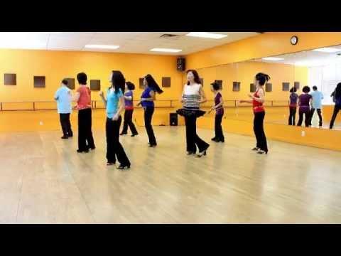Divine Line - Line Dance (Dance & Teach in English & 中文)