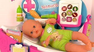 Poupon Nenuco Malade ♠ Visite Médicale Interactive