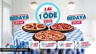 Domino's'tan 3 Al 1 Öde, Sofra...