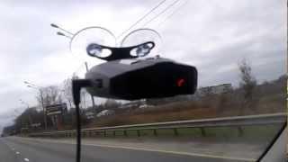 Радар-детектор «Inspector» против комплекса видеофиксации «Стрелка-СТ»
