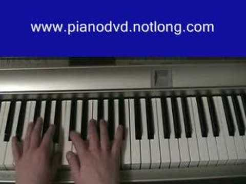 How to play All these things that I've done on the piano