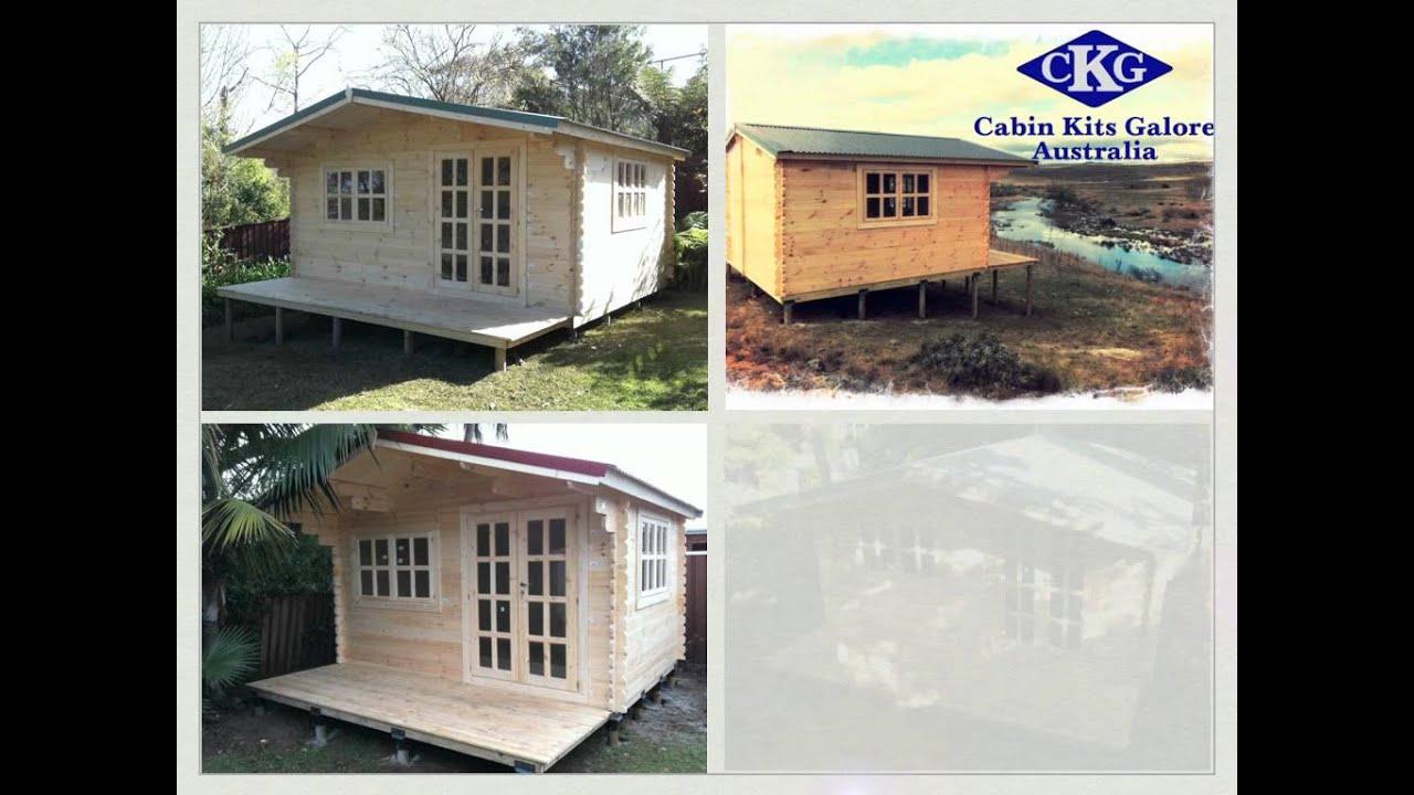 cabin kits galore youtube