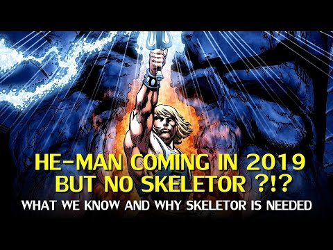 He-Man and Masters of the Universe Reboot without Skeletor?
