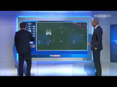 Gary Neville mocks Jamie Redknapp with Thierry Henry (HD 1080i)