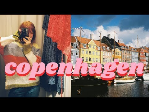 My First Trip to Copenhagen, Denmark VLOG