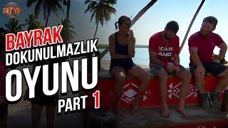 Bayrak Yarışı Dokunulmazlık Oyunu 1. Part   37. Bölüm   Survivor Türkiye - Yunanistan