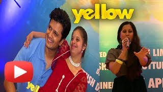 Yellow Movie Special Song - Apeksha Dandedar, Riteish Deshmukh, Mrunal Kulkarni - Latest Marathi
