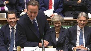 David Cameron's Last Laugh as U.K. Prime Minister