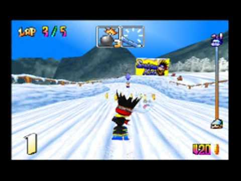 Snowboard Kids (N64) Gameplay