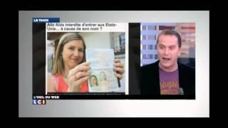 Française interdite de séjour aux Etats-Unis à cause de son nom