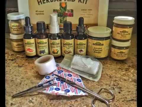 Natural Herbal Aid Travel Kit