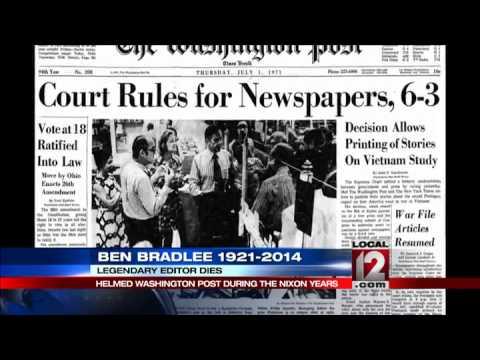 Download Former Washington Post editor Ben Bradlee dies