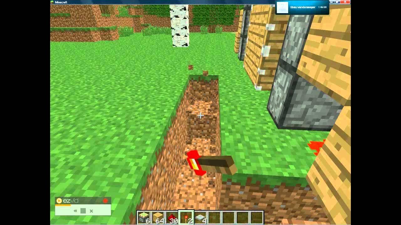 Hoe maak je een schuifdeur in minecraft youtube - Hoe sluit je een pergola ...
