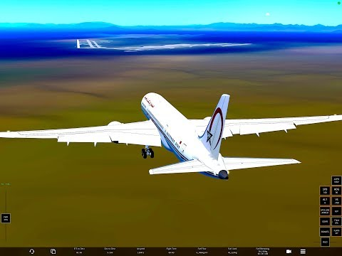 Infinite Flight GLOBAL Casablanca GMMN- Rio de Janeiro SBGL B787 Royal Air Maroc