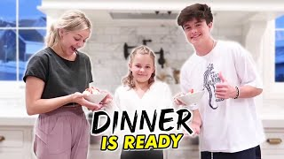 Reese Makes Dinner For Brock And Kesley | The LeRoys