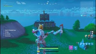 Tutorial how to make a spawn pad base in fortnite