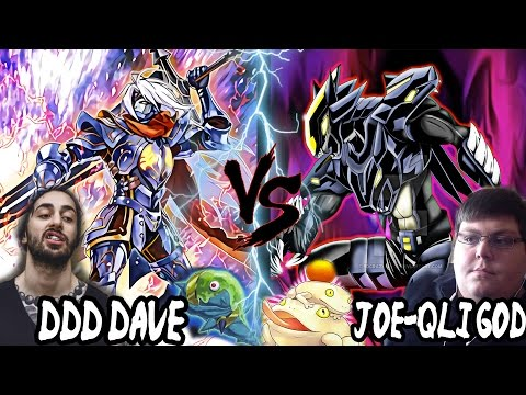 YUGIOH LIVE DUEL! D/D/D (DDD DAVE) VS TOADALLY AWESOME HERO (JOE QLI-GOD) FULL! COMMENTARY!EPIC 2017