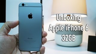 Apple iPhone 6 32GB Indian Retail Unit Unboxing & Overview