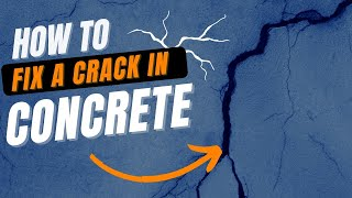 How to Fix a Crack in Concrete  | A DIY Guide