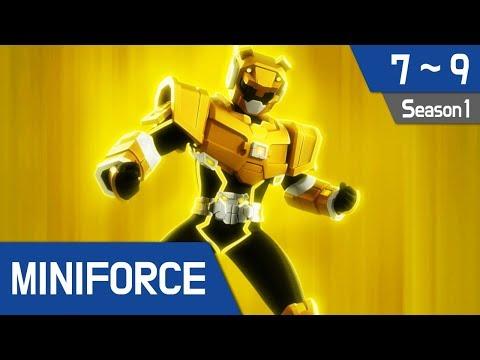 Miniforce Season 1 Ep 7~9