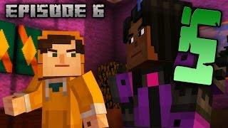 MINECRAFT: Story Mode Эпизод 6 прохождение - РАЗОБЛАЧЕНИЕ #5