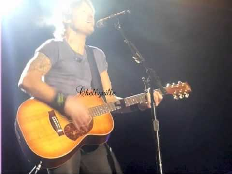 Keith Urban Better Life Acoustic Narrabri June 2014