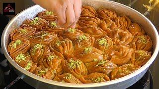 Baklava Recipe Step by Step - Filo (Phyllo) Pastry Recipe - طرز تهیه باقلوا