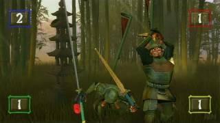 Ninja Reflex Nintendo Wii Gameplay - Katana