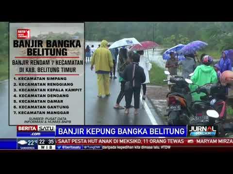 Banjir Rendam 7 Kecamatan di Belitung Timur