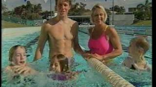 Uncle Tobys commercial 1996 with Kieren Perkins & Lisa Curry